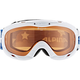 Alpina Ruby S Singleflex Hicon S1 Goggle Kids white